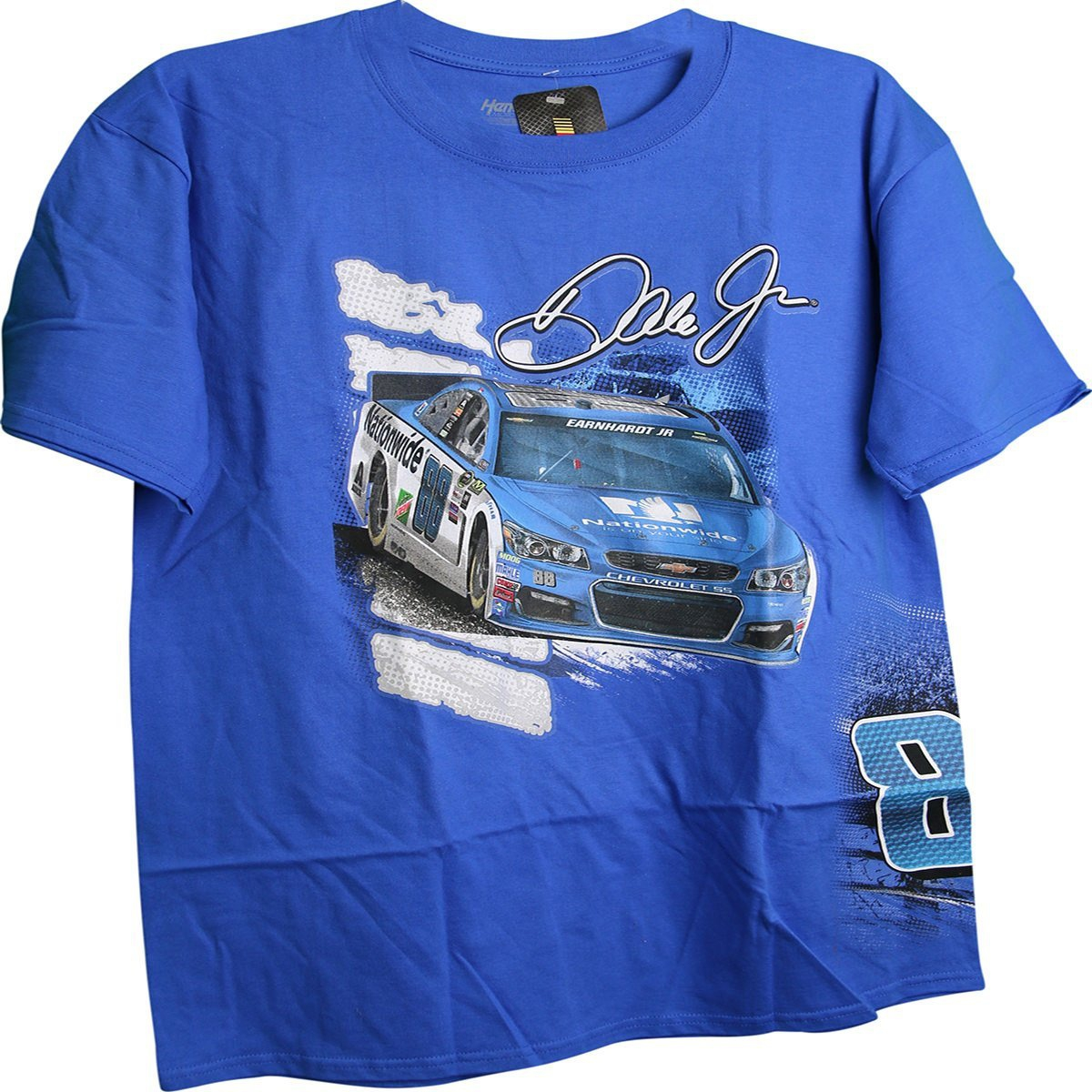 Dale Earnhardt Jr #88 Nationwide Drive Wraparound 2 Sided Adult T-Shirt