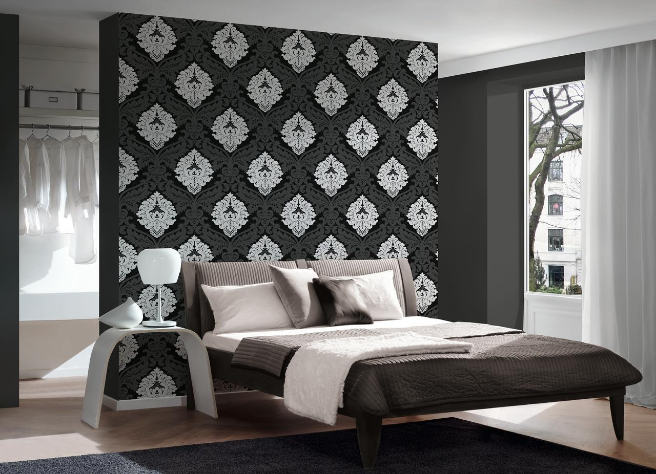 B W 3 Black And White Look Wallpaper Sample Modern Wall Decor