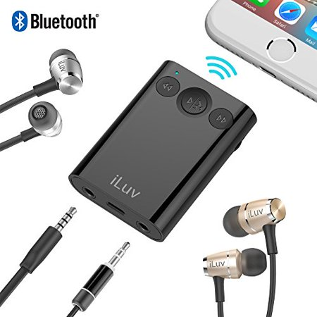 iLuv BTstereo splitter w/seperate vol control  and handfree (Best Headphone Splitter With Volume Control)