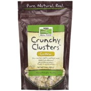 NOW Foods Real Food Crunchy Clusters Cashew 9 oz