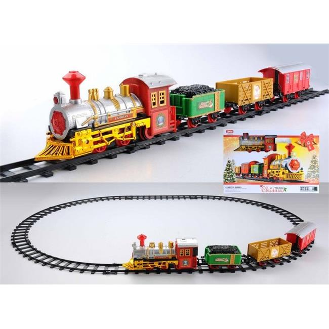 Northlight Seasonal 31758646 Battery Operated Lighted & Animated Christmas Express Train Set with Sound