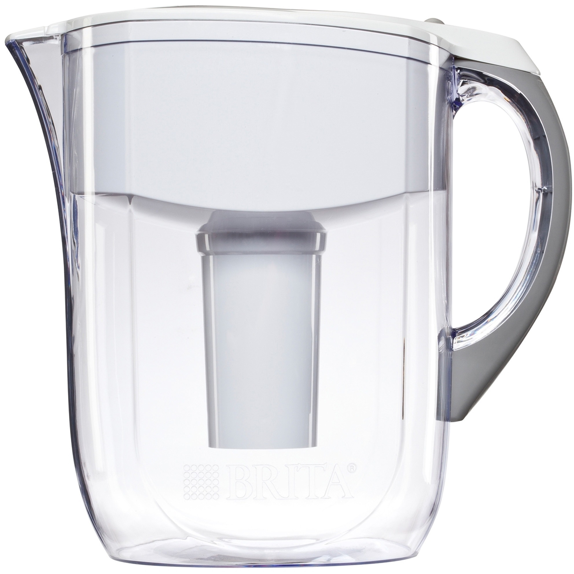 Brita, CLO35565, Large 10 Cup Grand Water Pitcher with Filter, 1 Each, White