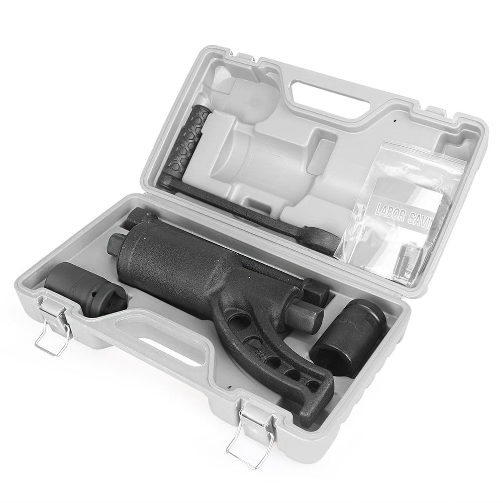 GZYF Torque Multiplier Labor Saving Lug Nut Wrench Remover, W  2 Semi CR-V Sockets by GZYF