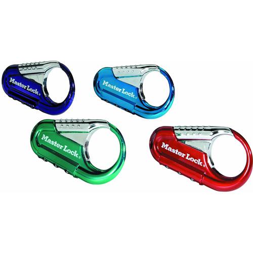 Master Lock 1548DCM Backpack Lock Assorted Colors