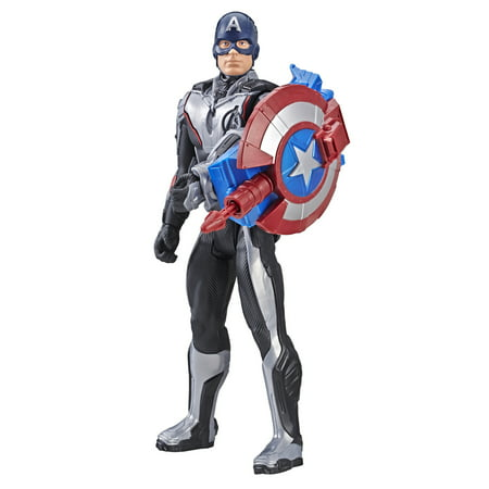 Marvel Avengers: Endgame Titan Hero Power FX Captain America (Guardians Of The Galaxy Captain America Shield)