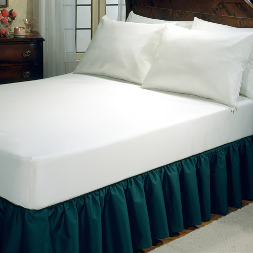 Fresh Ideas™ White Allergy Relief Fitted Mattress Protector, Queen