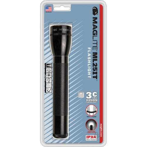 Maglite C-Cell Xenon Lamp 3-Cell - ML25IT-3016