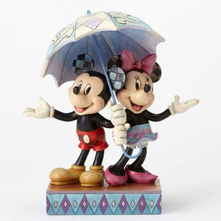 Jim Shore's Disney 4054280 Mickey and Minnie Sharing New 2016