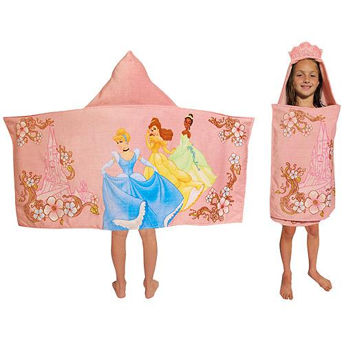 Disney Princess Heart Hooded Towel