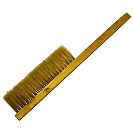 Harvest Lane Honey 7969538 TOOL-102 Soft Bristle Wood Handle Bee Brush ()