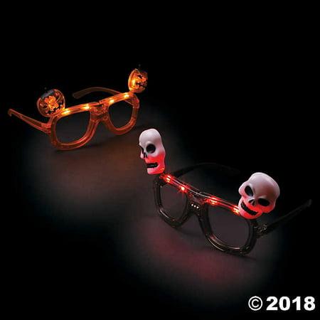 Halloween Light-Up Glasses(pack of 3)