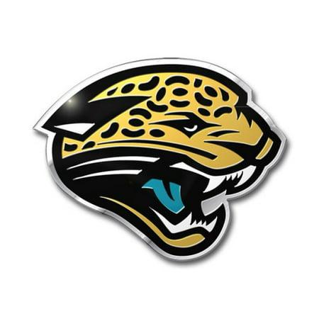 2b9a302c NFL Jacksonville Jaguars Die Cut Color Automobile Emblem | Walmart ...
