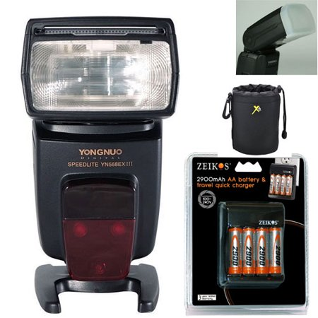 Yongnuo YN-568EX III Master TTL HSS Wireless Flash Speedlite for Canon + battery and charger +