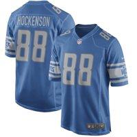 T.J. Hockenson Detroit Lions Nike Game Player Jersey - Blue