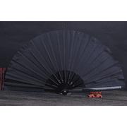 Decoration Hand Fan Folding Fan Hand Silk Cloth DIY Chinese Folding Fan Wooden Bamboo Antique Folding Fan DIY Calligraphy Painting Decoration for Wedding Reception