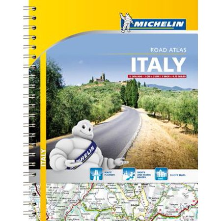 Collins Big Road Atlas (Michelin: Italy Road Atlas - Paperback )