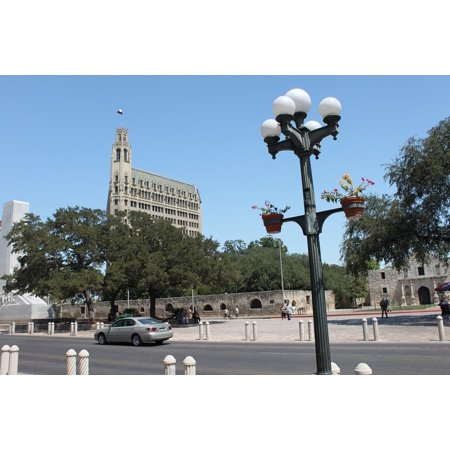 Party City In San Antonio Texas (Canvas Print Downtown Texas San Antonio City Building Cityscape Stretched Canvas 10 x)