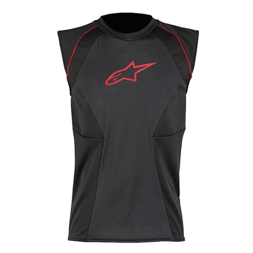 Alpinestars MX Cooling Underwear Vest Black/Red