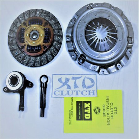 XTD HEAVY DUTY CLUTCH KIT 2008-2010 LANCER DE ES GTS 2.0L NON-TURBO 4CYL (Mitsubishi Heavy Duty Clutch Kit)