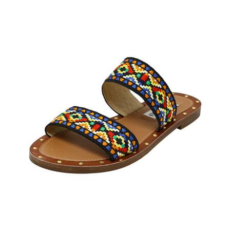 8a9308428fc Steve Madden Women's Marcia Multi Sandal - 5.5M