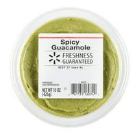 Freshness Guaranteed Guacamole, Spicy, 15 oz