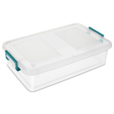 Sterilite, 25 Quart / 23 Liter Modular Latch Box
