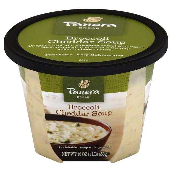 Panera Bread Broccoli Cheddar Soup, 16.0 OZ - Walmart.com