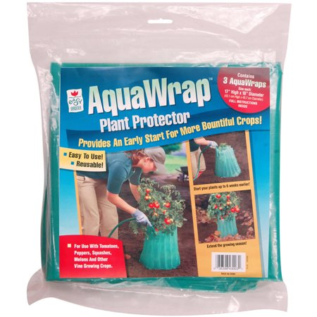 Image of Easy Gardener 43003 3 Pack AquaWrap Plant Protector