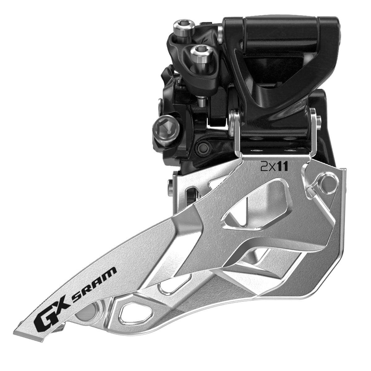 SRAM GX 2x11 High Clamp Top Pull Front Derailleur