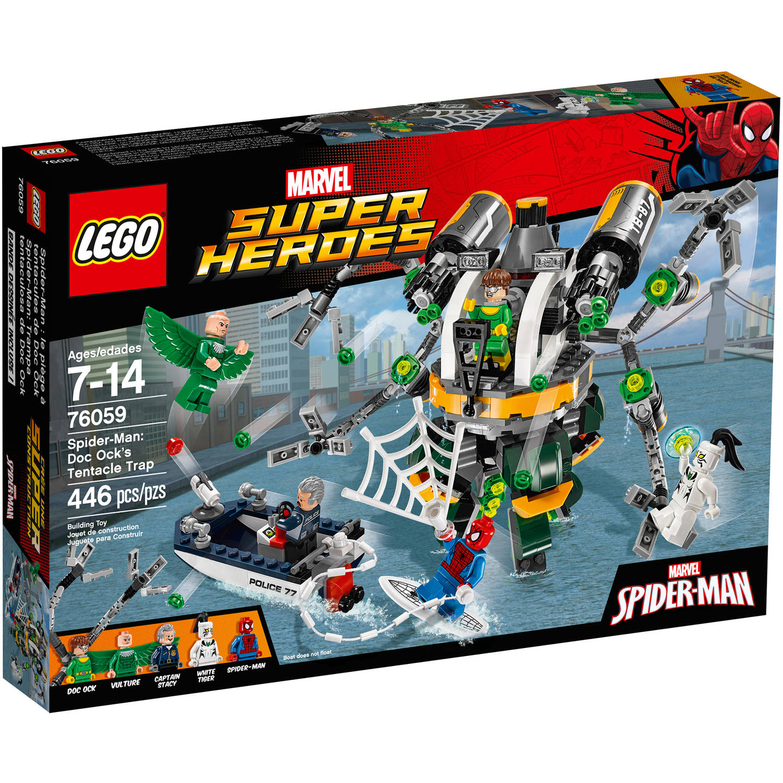 LEGO Marvel Super Heroes Spider-Man: Doc Ock's Tentacle Trap, 76059