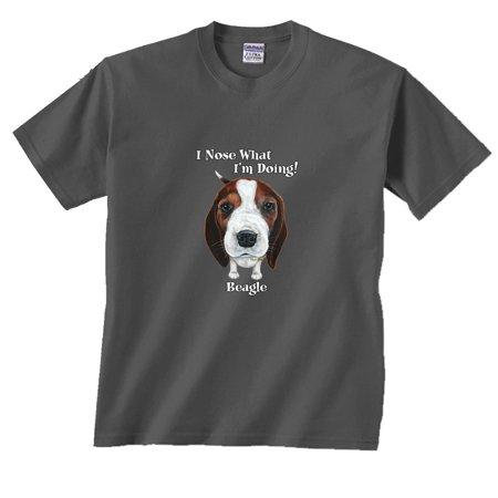 Nose Art Tee (I Nose What I'm Doing!Beagle T-Shirt)
