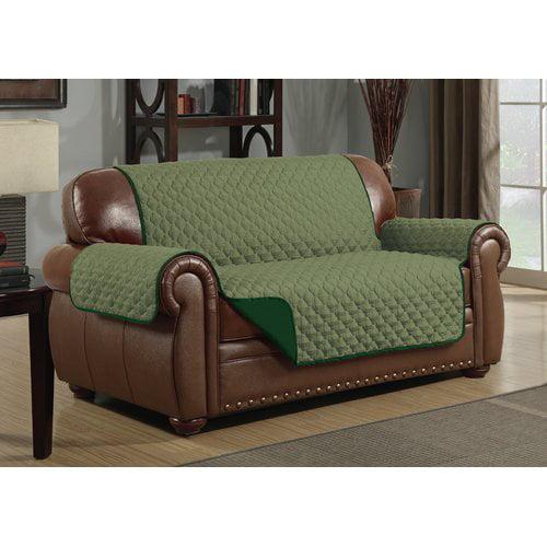 Kashi Home Box Cushion Loveseat Slipcover