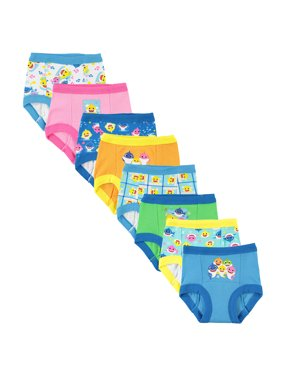 Baby Shark Toddler Boys Training Pants, 7-Pack
