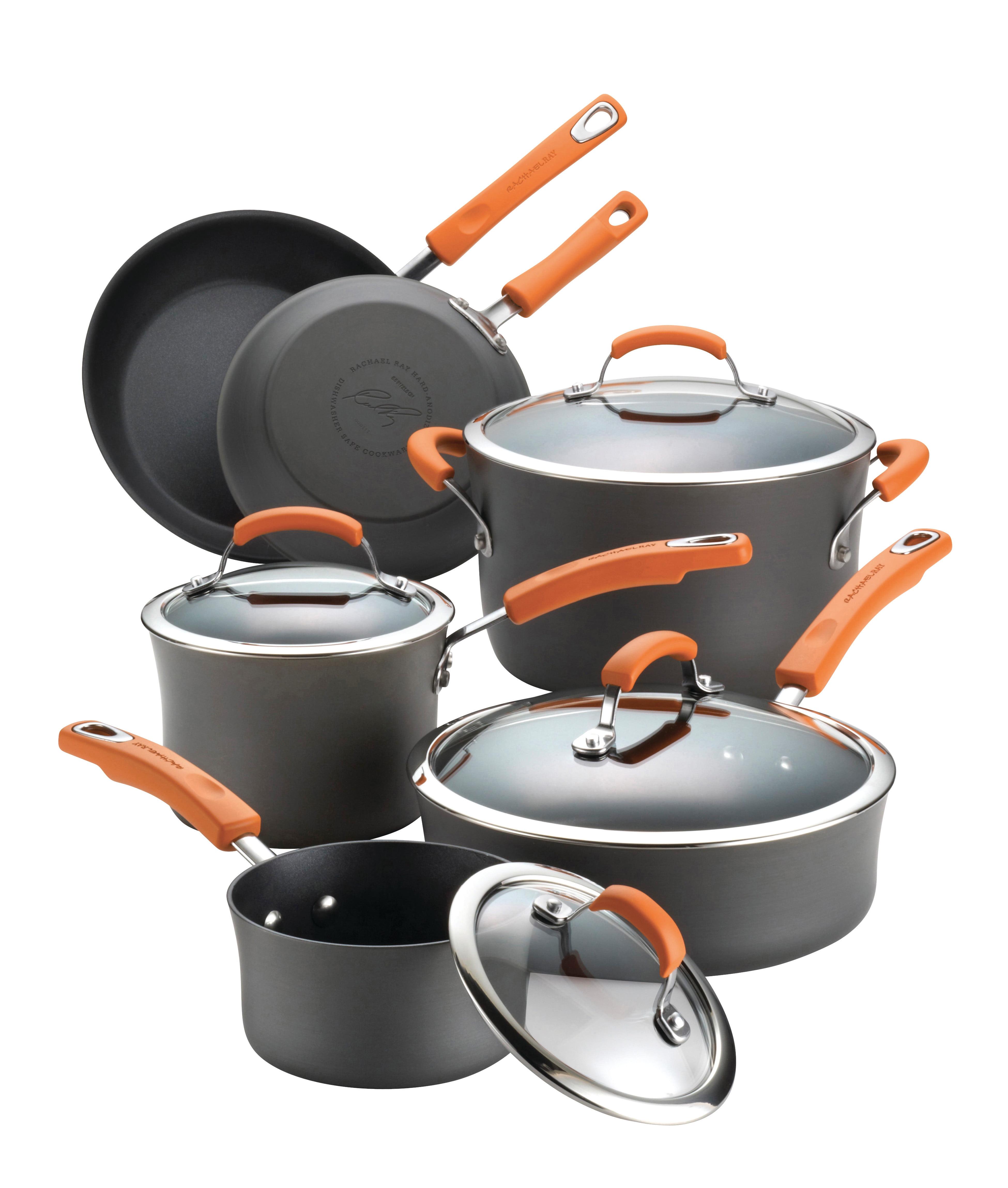 Cuisinart 64-13 13 Pc Contour Hard Anodized Perp Cookware Set ...