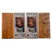 Wasatch Mountain Cedar Grilling Planks for Salmon; Bundle 4 Pack Seasoned w/Natural Herbs, Spices & Oils; Gourmet Ports Combine Steam & Wood Smoke Flavor (Chili Lime Chipotle and Garlic Lemon Pepper)