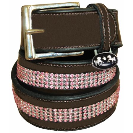 Equine Couture Bling Leather Belt - Regular Leather (Belts 3x)