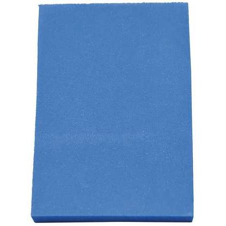 CLARK FOAM 1001332BLU Kitting Sheet, Polyethylene, Blue, 3/8 in.