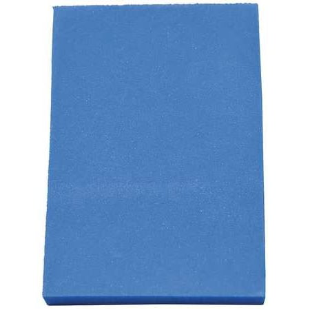 CLARK FOAM 1001335BLU Kitting Sheet, Polyethylene, Blue, 1/2 in.