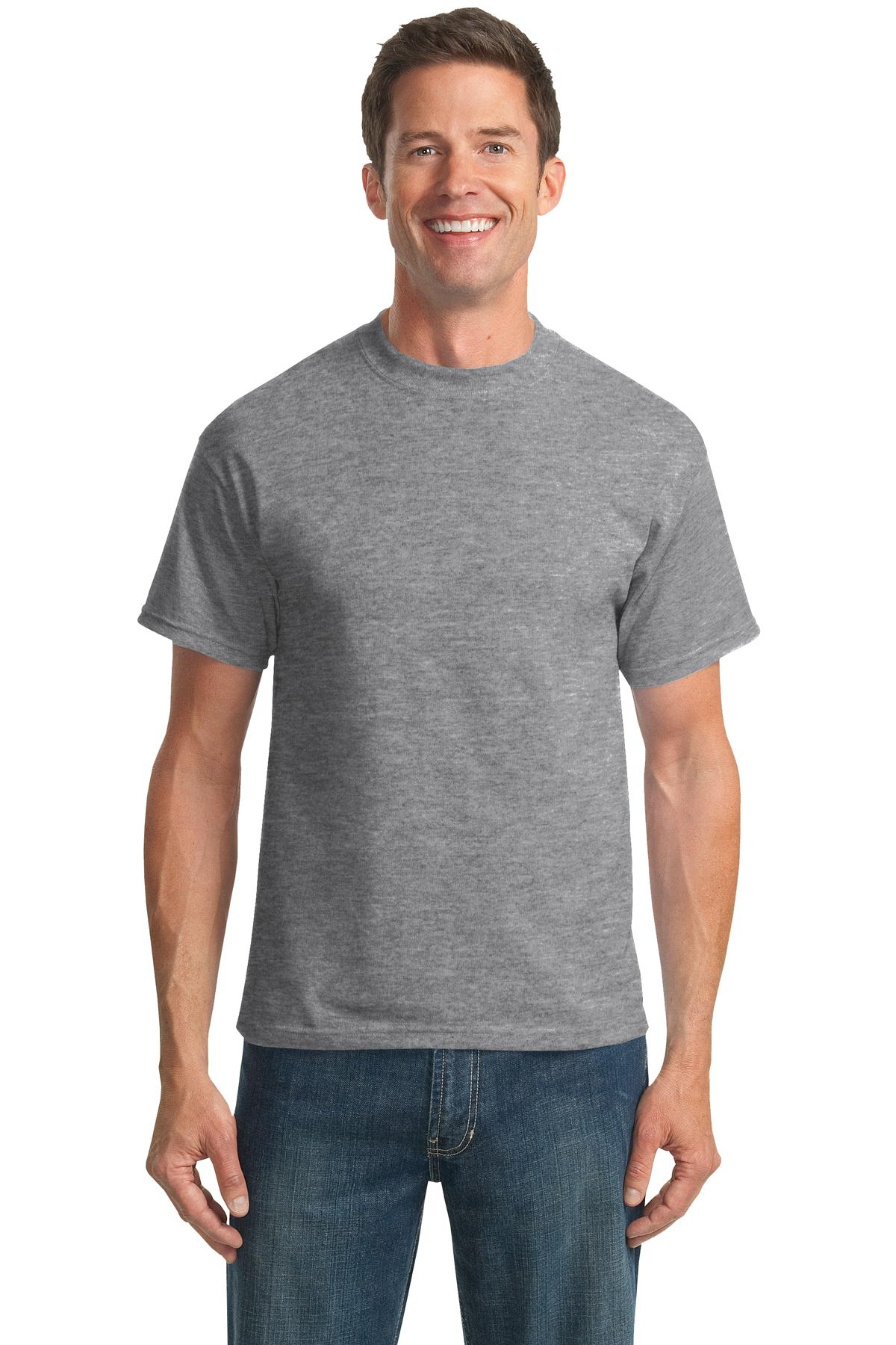Port /& Company Mens 50//50 Cotton//Poly T-Shirts