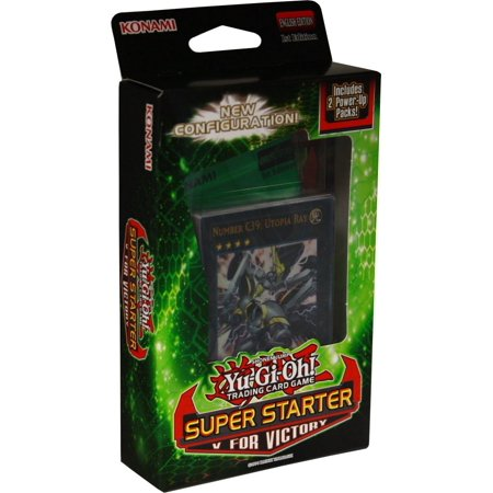 Yu-Gi-Oh! Super Starter: V for Victory DeckNew config: a 40-card deck + 2 XYZ monsters, + 2 power packs By Cardfight