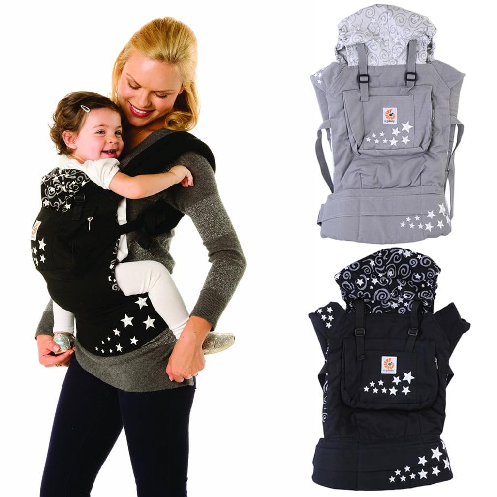 Leshp Infant Baby Carrier Sling Wrap Rider Backpack Front Back