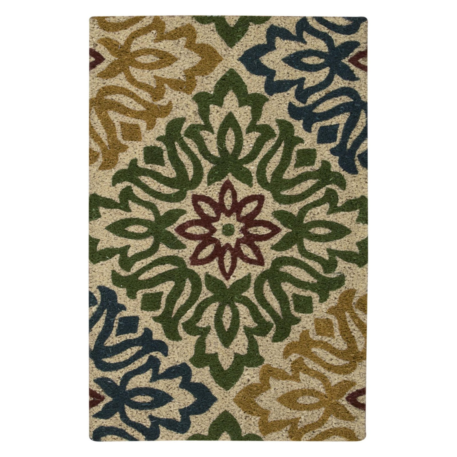 "Waverly Greetings ""Sweet Things"" Green Doormat by Nourison"