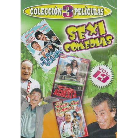 Sexi Comedias Vol. 13 (Comedia 3 Peliculas) (Pelicula Halloween 5)