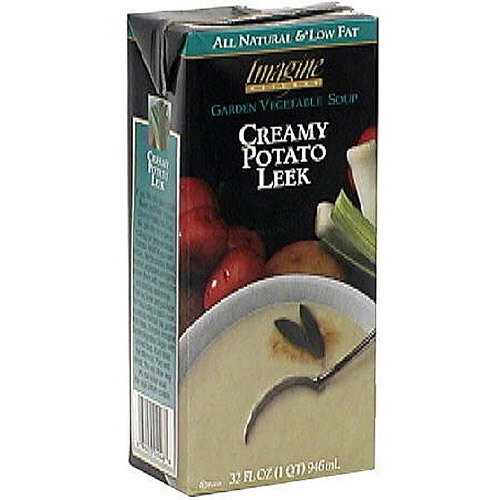 Imagine Foods Natural Creations Creamy Potato Leek Soup, 32 oz (Pack of 12)