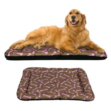 Dog Crate Pad Bolster Bed Pet Mat Waterproof, 42