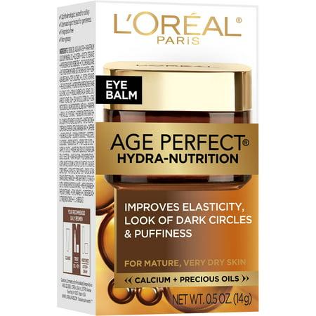Sudden Change Under Eye - L'Oreal Paris Age Perfect Hydra-Nutrition Eye Balm