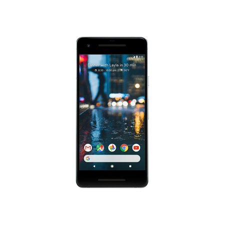 "Google Pixel 2 - Smartphone - 4G LTE - 128 GB - CDMA / GSM - 5"" - 1920 x 1080 pixels (441 ppi) - AMOLED - RAM 4 GB - 12.2 MP (8 MP front camera) - Android - clearly white"
