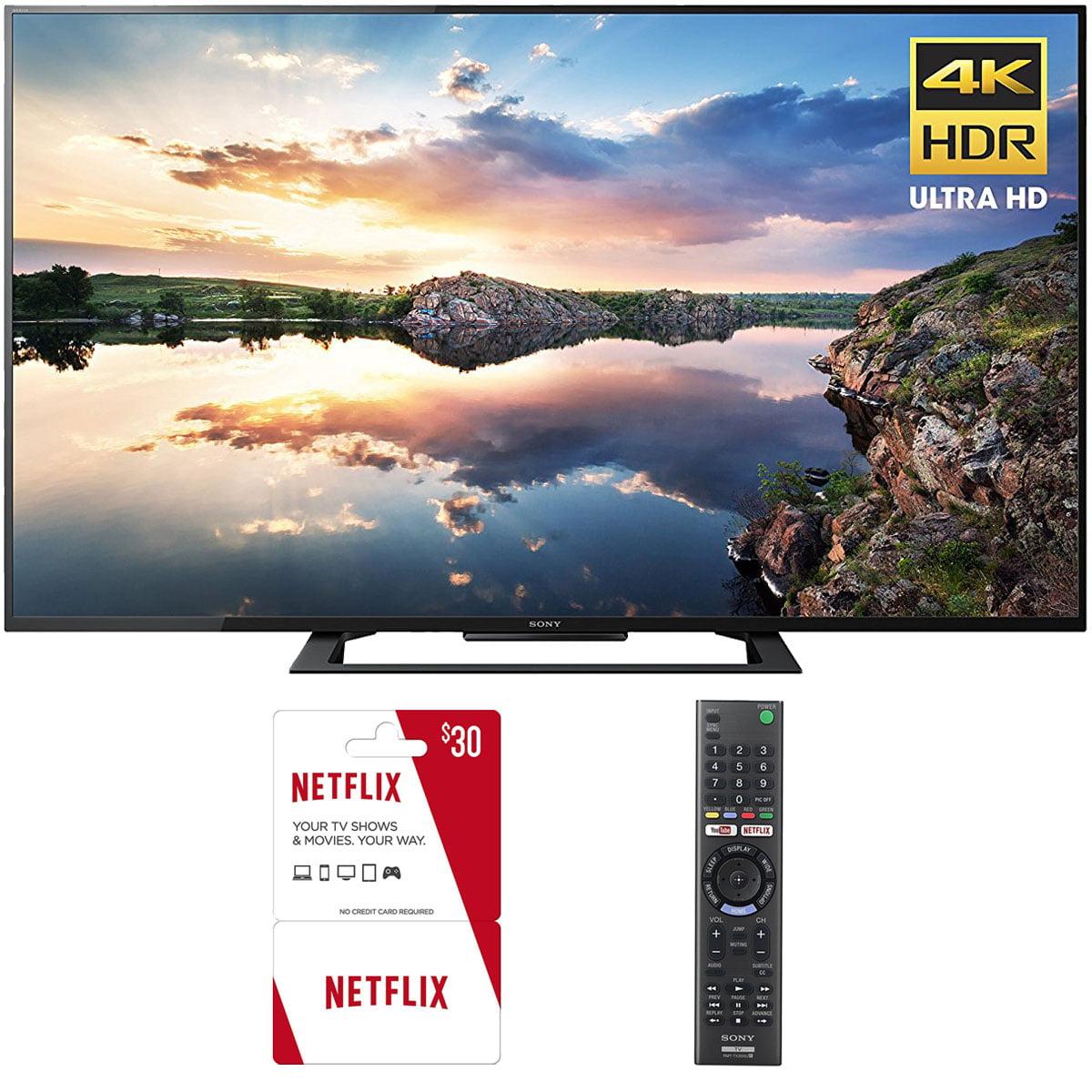 Sony KD60X690E 60-Inch 4K Ultra HD Smart LED TV (2017) Plus 3 Free Months of Netflix by Sony