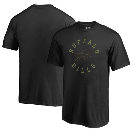 Buffalo Bills NFL Pro Line by Fanatics Branded Youth Camo Collection Liberty T-Shirt - Black (Camoflauge Nfl)