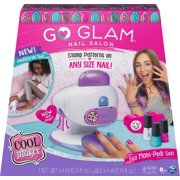 Cool Maker, GO GLAM Nail Stamper Salon for Manicures and Pedicures with 5 Patterns and Nail Dryer